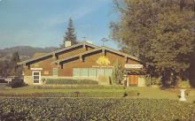 sub015689 - Main tasting room of the Italian Swiss Colony Winery Asti, California USA Postcard