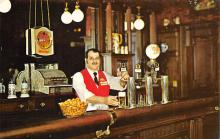 sub015693 - Friendly Bartender The Utica club Brewery Tour, Utica, NY USA Postcard