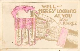 sub015715 - Beer Stein C Juarez Postcard