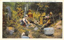 sub015729 - A typical moonshine still in the heart of the mountains. Old Kentucky, USA Postcard
