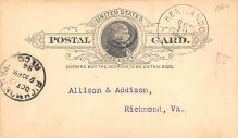 sub054271 - Postal Cards, Late 1800's Post Card
