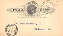 sub054277 - Postal Cards, Late 1800's Post Card