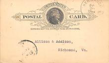 sub054279 - Postal Cards, Late 1800's Post Card