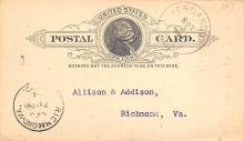 sub054285 - Postal Cards, Late 1800's Post Card