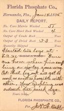 sub054381 - Postal Cards, Late 1800's Post Card