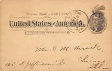 sub054397 - Postal Cards, Late 1800's Post Card