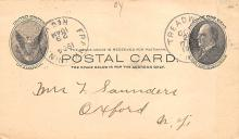 sub054401 - Postal Cards, Late 1800's Post Card