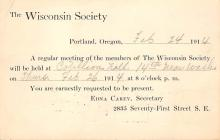 sub054407 - Postal Cards, Late 1800's Post Card