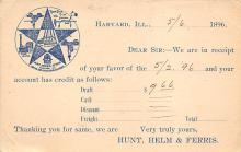 sub054409 - Postal Cards, Late 1800's Post Card