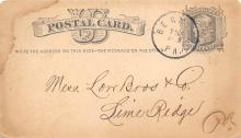 sub054441 - Postal Cards, Late 1800's Post Card