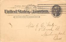 sub054443 - Postal Cards, Late 1800's Post Card