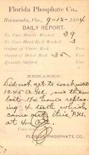 sub054499 - Postal Cards, Late 1800's Post Card