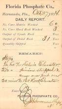 sub054507 - Postal Cards, Late 1800's Post Card