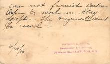 sub054545 - Postal Cards, Late 1800's Post Card