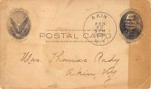 sub054563 - Postal Cards, Late 1800's Post Card