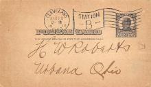 sub054581 - Postal Cards, Late 1800's Post Card