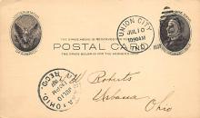 sub054587 - Postal Cards, Late 1800's Post Card