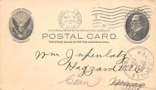 sub054589 - Postal Cards, Late 1800's Post Card