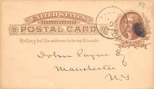 sub054595 - Postal Cards, Late 1800's Post Card
