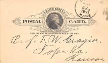 sub054605 - Postal Cards, Late 1800's Post Card