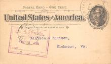 sub054611 - Postal Cards, Late 1800's Post Card