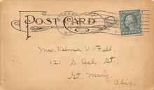 sub054695 - Postal Cards, Late 1800's Post Card