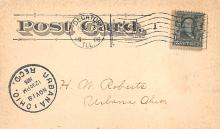 sub054701 - Postal Cards, Late 1800's Post Card