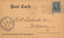 sub054703 - Postal Cards, Late 1800's Post Card
