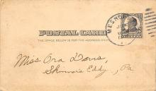 sub054713 - Postal Cards, Late 1800's Post Card
