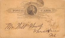 sub054751 - Postal Cards, Late 1800's Post Card