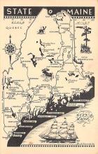 sub054869 - Maps Post Card