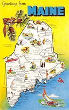 sub054871 - Maps Post Card