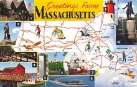 sub054883 - Maps Post Card