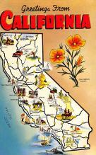 sub054899 - Maps Post Card