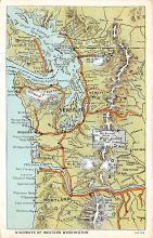 sub054909 - Maps Post Card