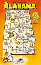 sub054911 - Maps Post Card