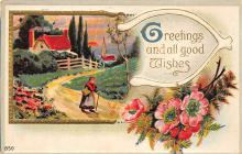 sub055665 - D.P.O. , Discontinued Post Office Post Card