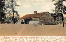 sub055849 - D.P.O. , Discontinued Post Office Post Card