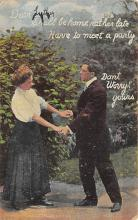sub055857 - D.P.O. , Discontinued Post Office Post Card