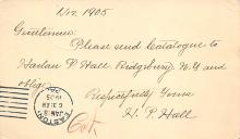 sub055973 - D.P.O. , Discontinued Post Office Post Card
