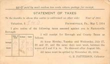 sub055999 - D.P.O. , Discontinued Post Office Post Card