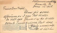 sub056027 - D.P.O. , Discontinued Post Office Post Card