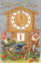sub057771 - Elves & Gnomes Post Card