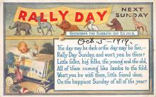 sub057785 - Rally Day Post Card