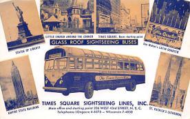 sub058561 - Bus Post Card