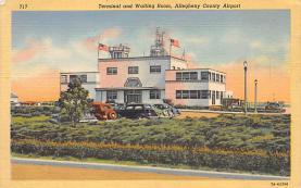 sub059559 - Airplane Post Card