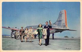 sub060077 - Airplane Post Card