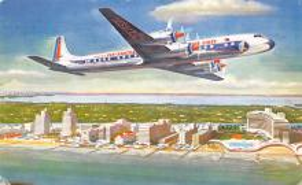 sub060097 - Airplane Post Card