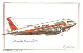 sub060103 - Airplane Post Card