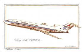 sub060105 - Airplane Post Card